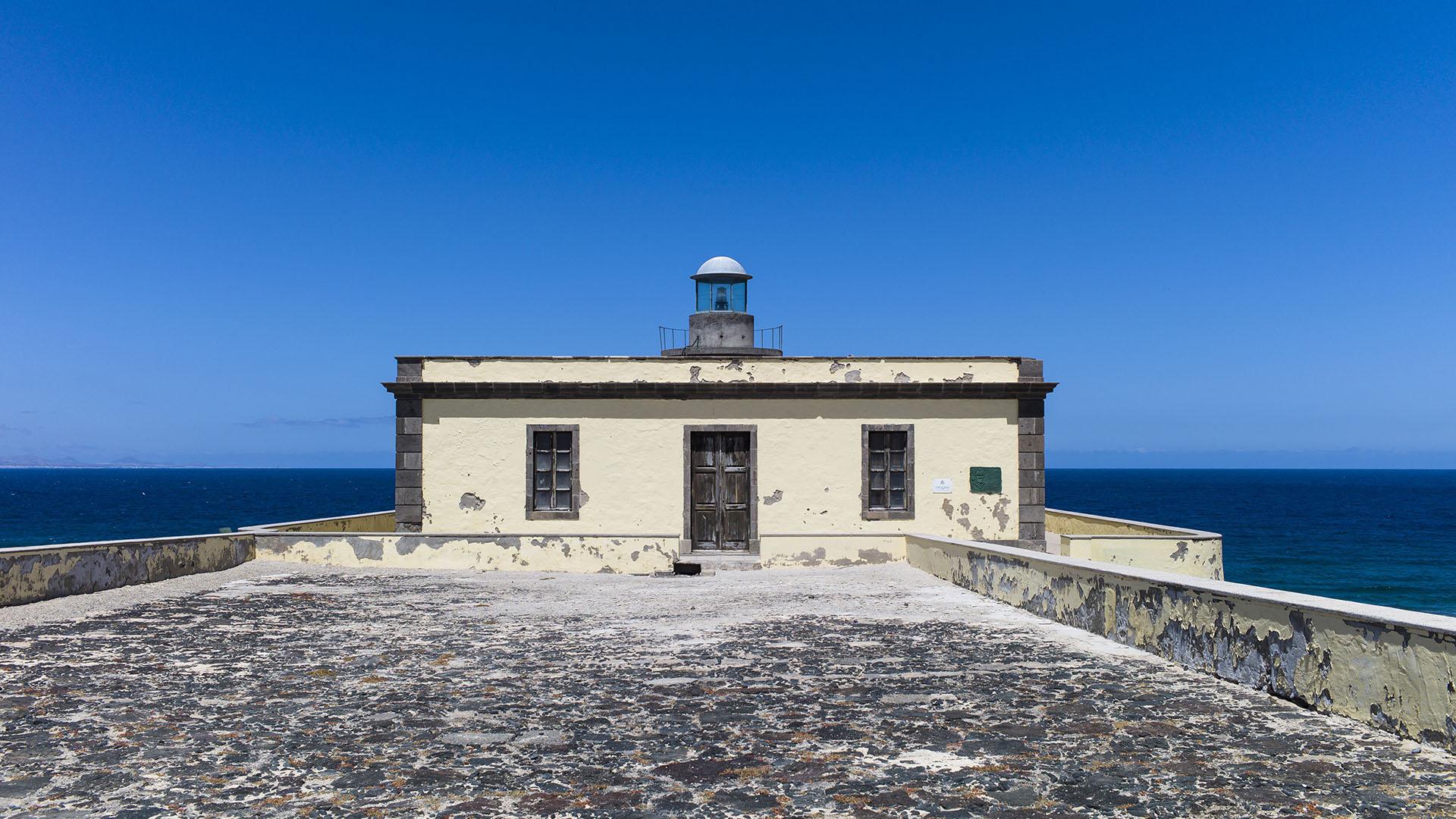 Faro Martiño Isla de Lobos Fuerteventura.