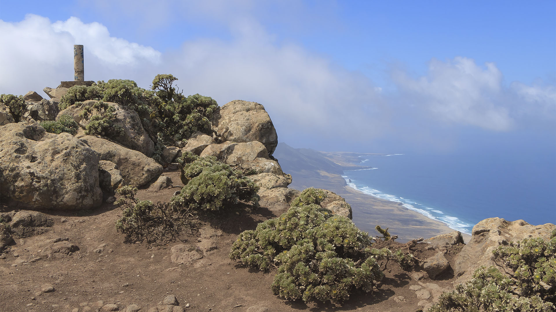 Pico de la Zarza Morro Jable Fuerteventura.