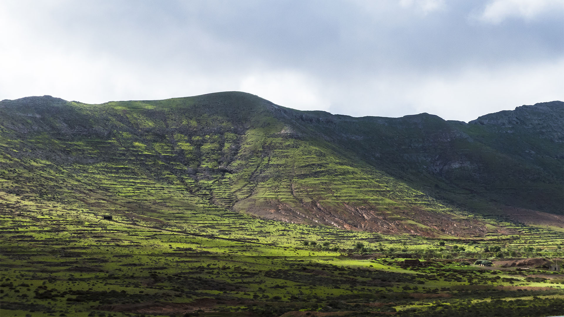 Montaña de Sant Andrés blick in das Valle de Tetir.