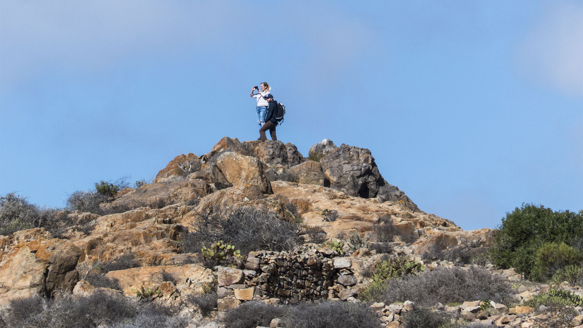 Morro del Humilladero Parque rural Parra Medina Betancuria Fuerteventura.