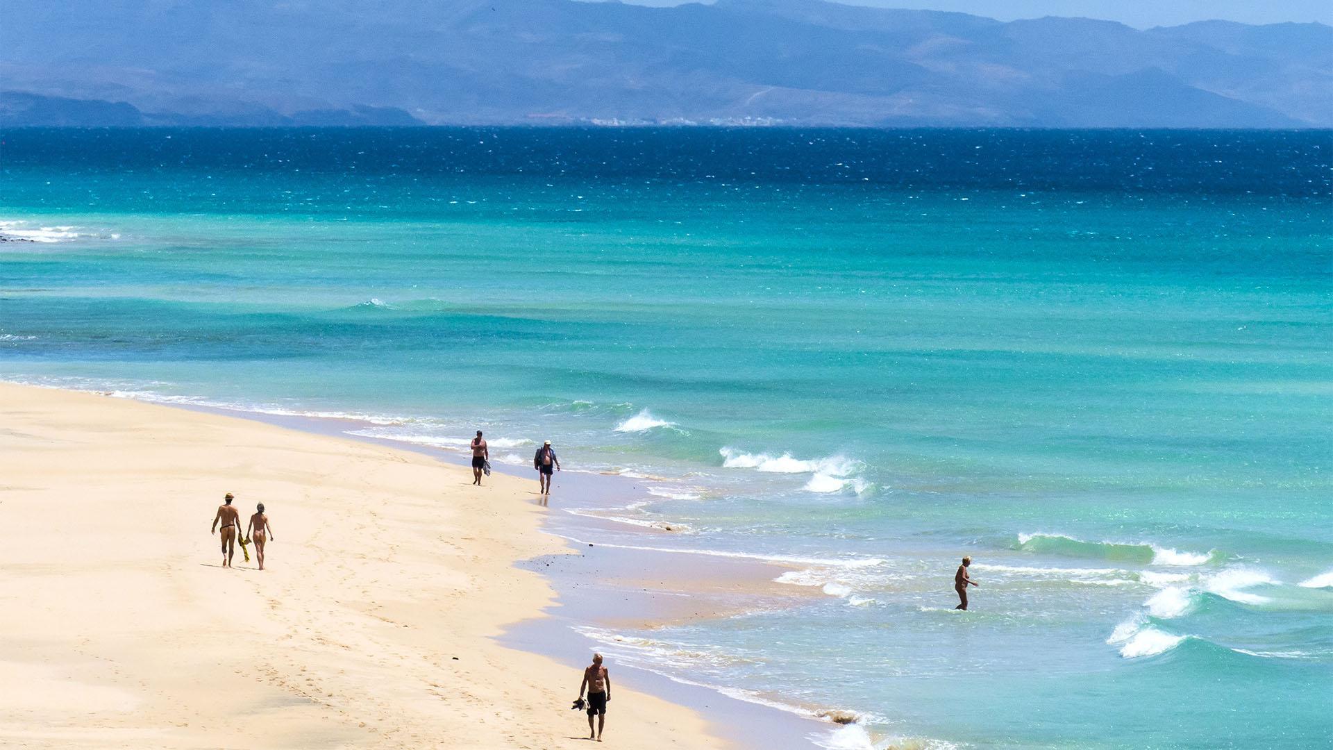 Playas de Jandía Fuerteventura.