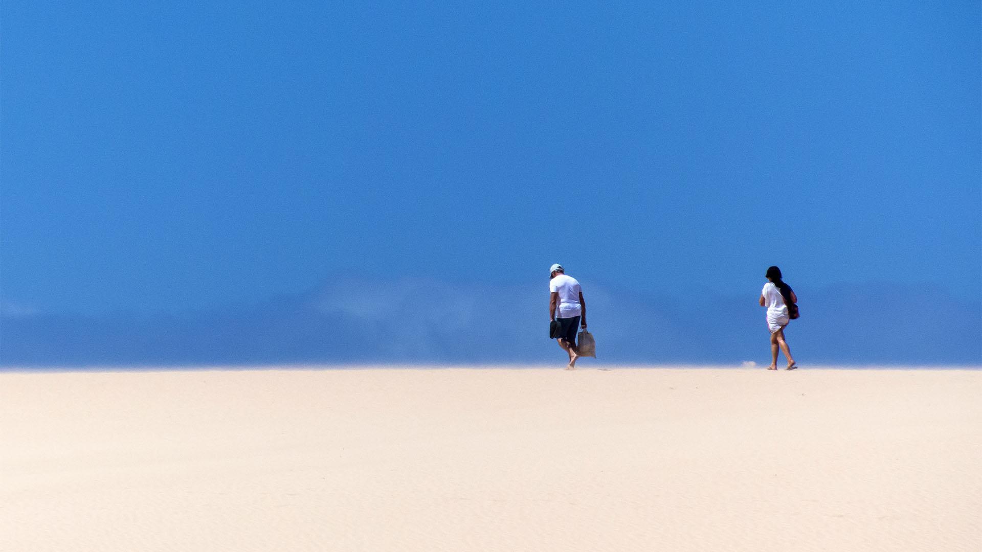 Dunas El Jable Corralejo Fuerteventura.