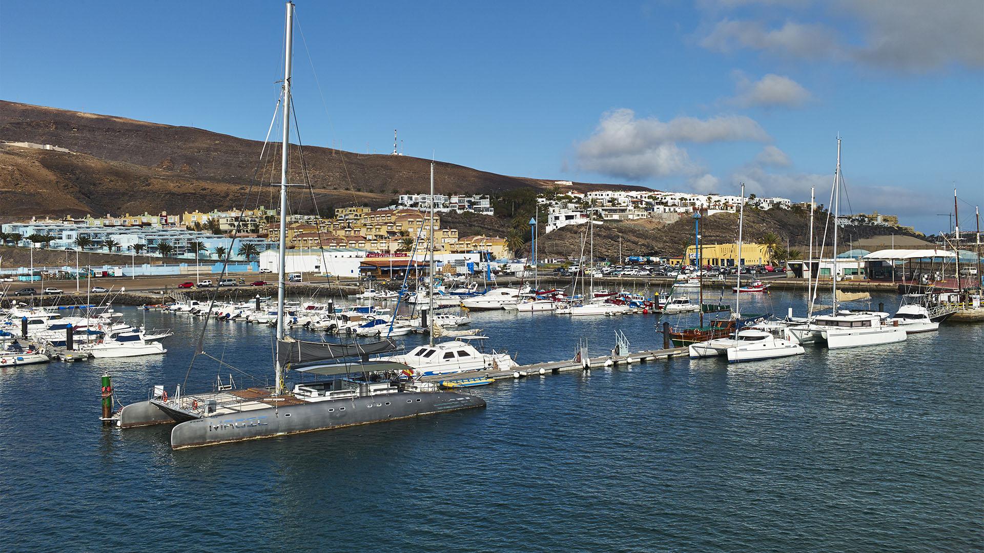 Fähre Morro Jable – Las Palmas: Auslaufen in Morro Jabe Fuerteventura.