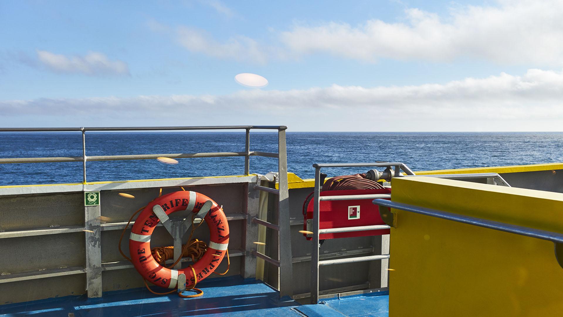 Fähre Morro Jable – Las Palmas: Auf See.