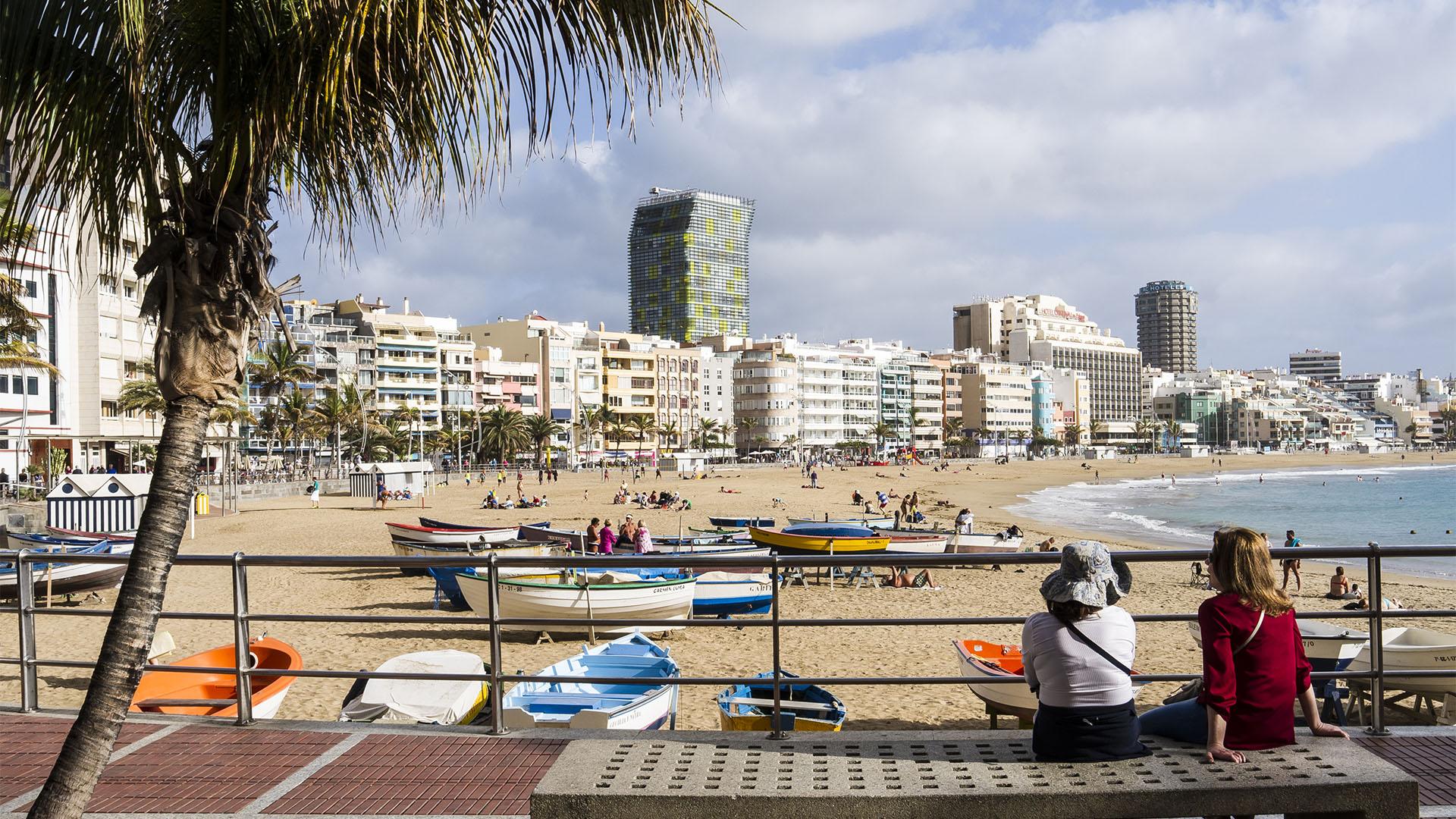 Playa de las Canteras Las Palmas de Gran Canaria.