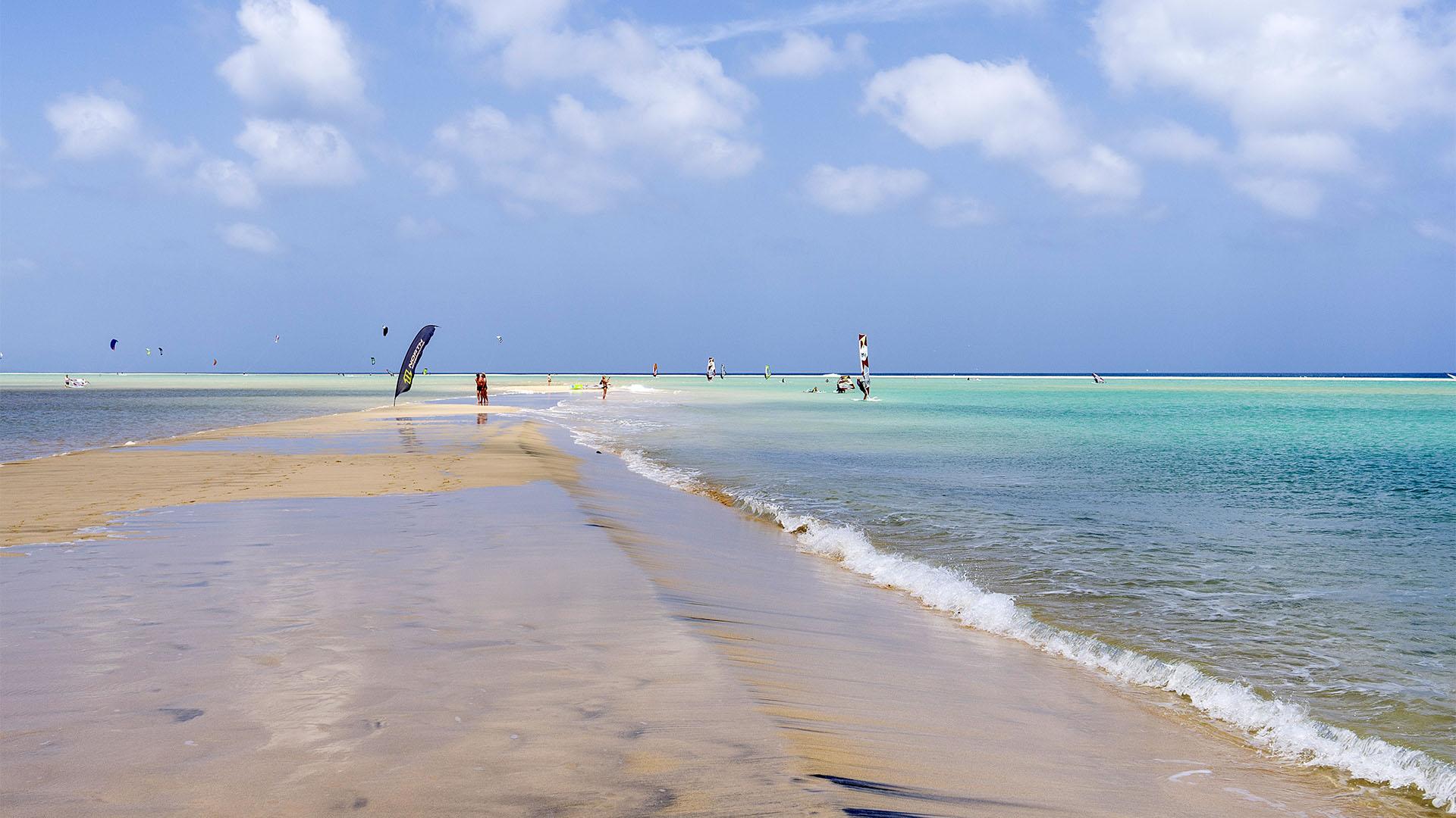 Die Lagune Risco de Paso Fuerteventura –einfach paradiesisch besonders im Herbst.