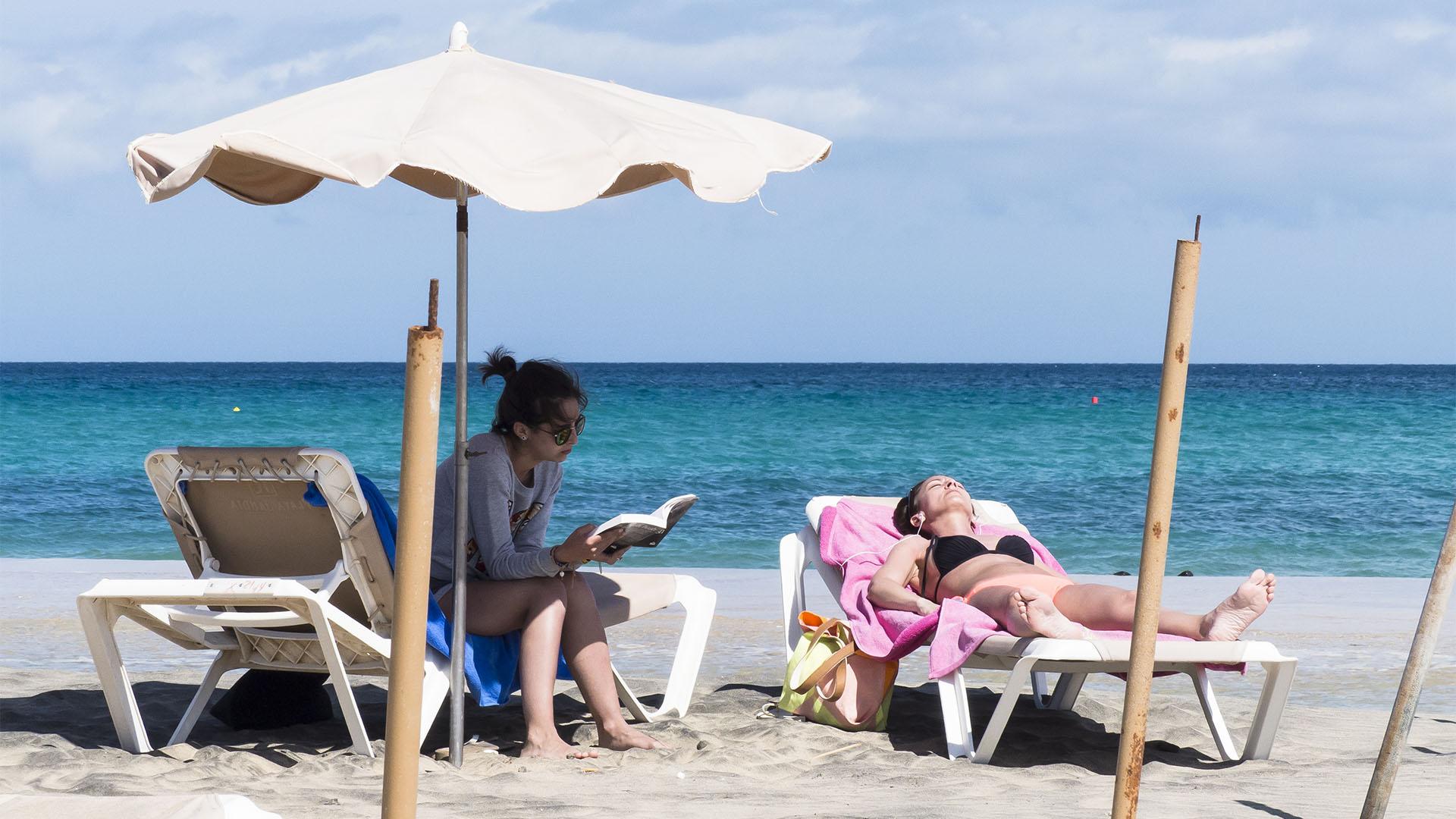 Abschalten und geniessen an den Traumstränden von Fuerteventura.