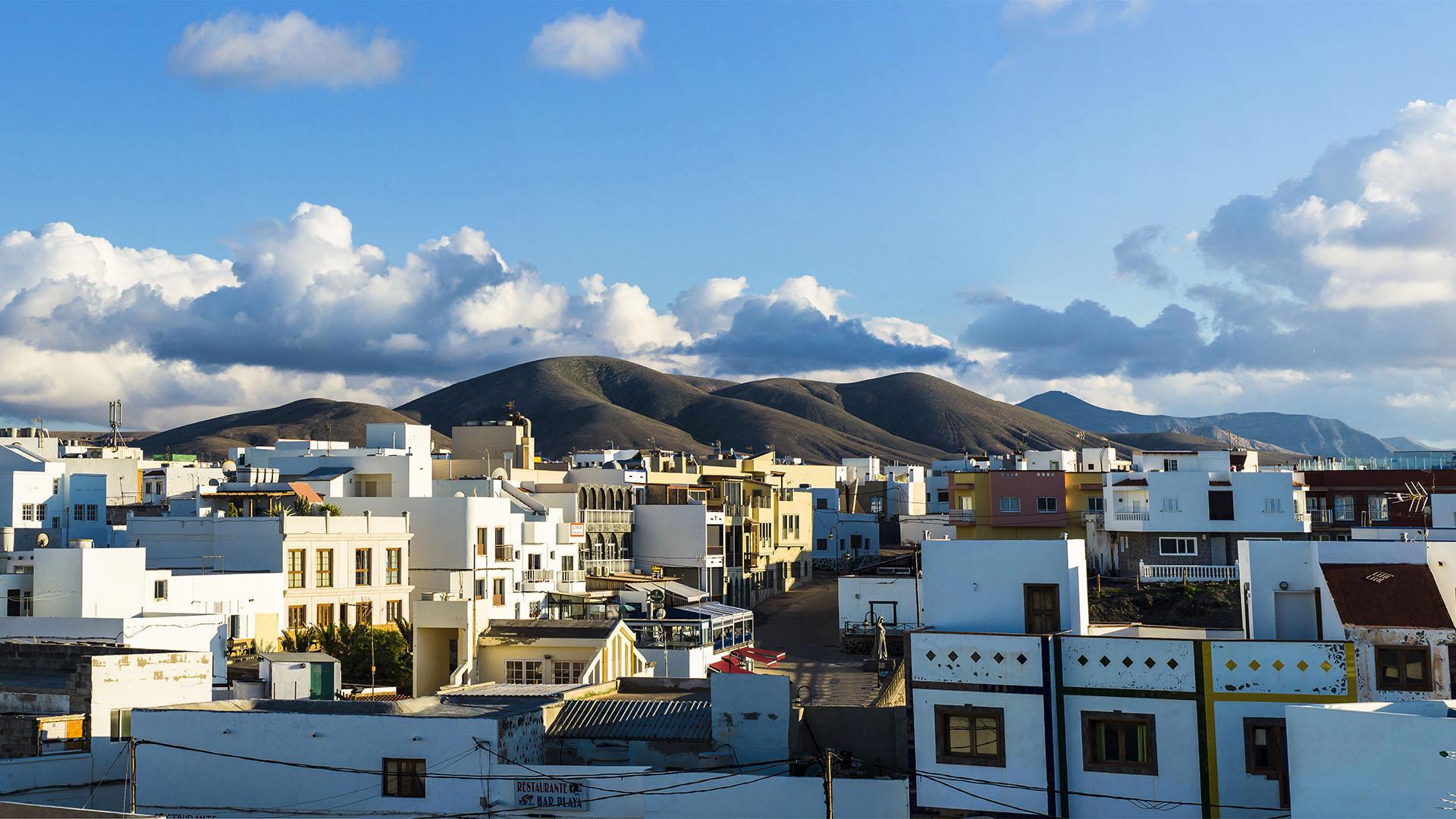Das kleine Fischerdorf El Cotillo Fuerteventura.