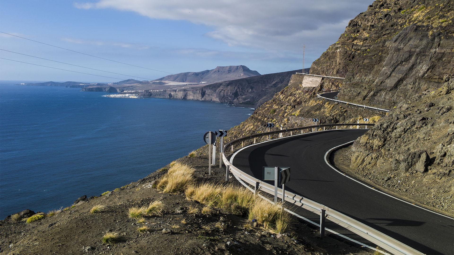 Die GC-200 auf Gran Canaria –die gefährlichste Strasse Spaniens.