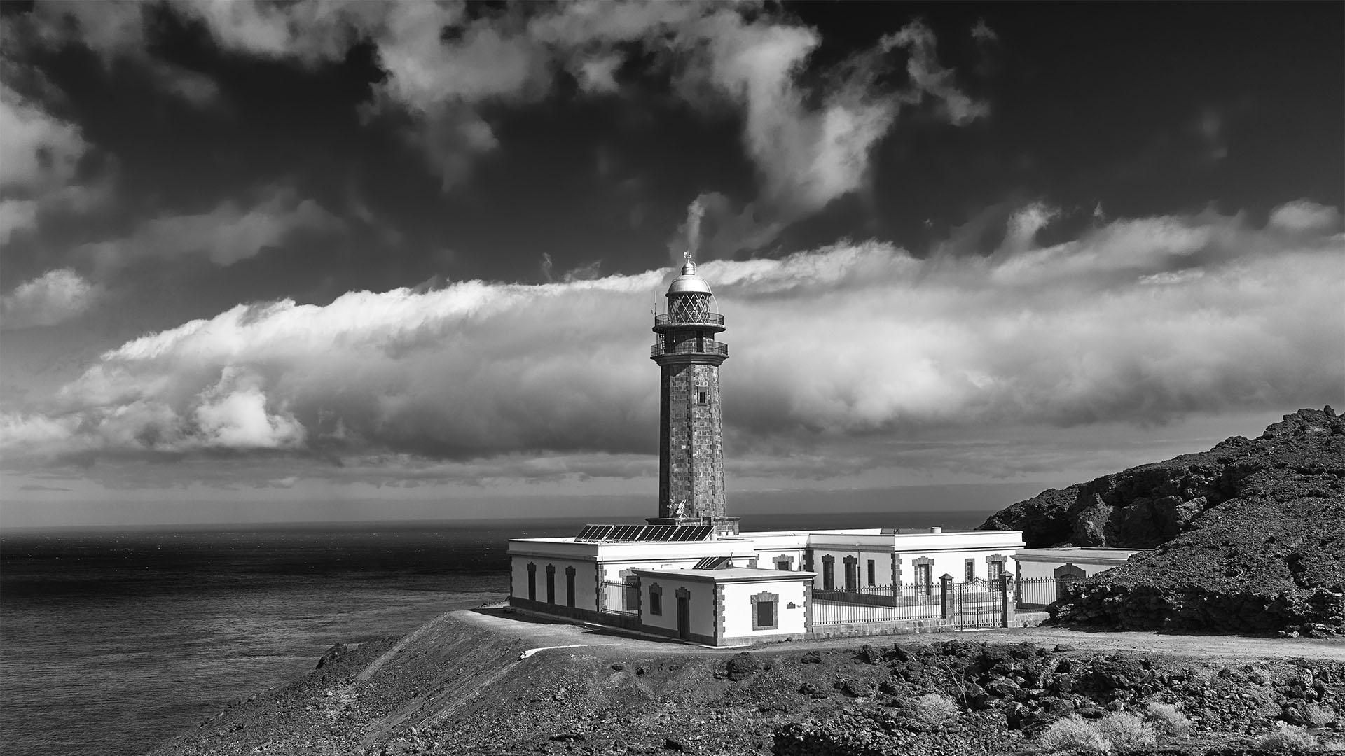 Faro Punta de Orchilla El Hierro –der erste Null Meridian der Menschheit.