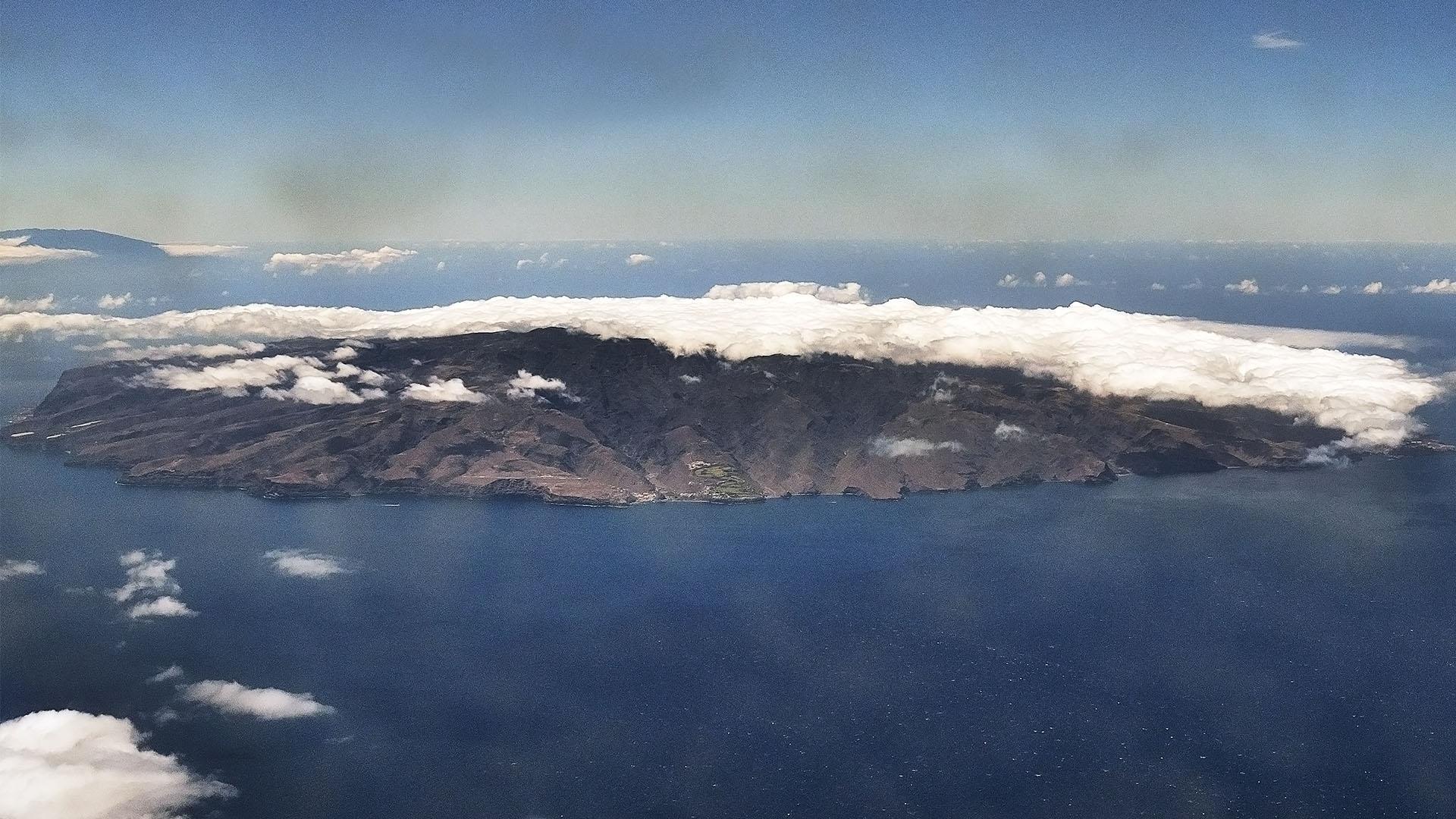 Die Kanaren Insel La  Palma –Staulage, der feuchte Nordost Passat.