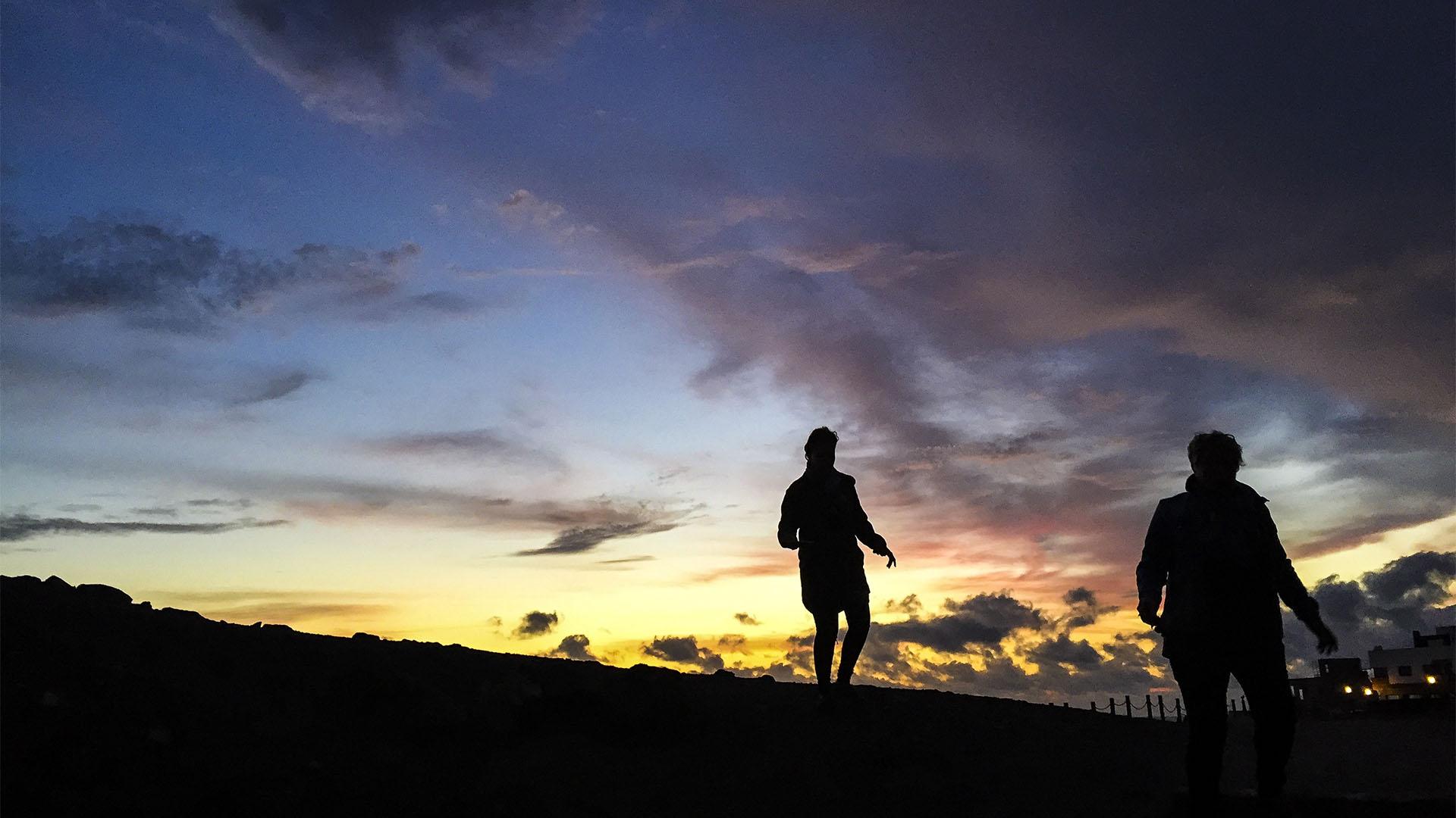 Nachwanderungen auf Fuerteventura ein besonderes Erlebnis.