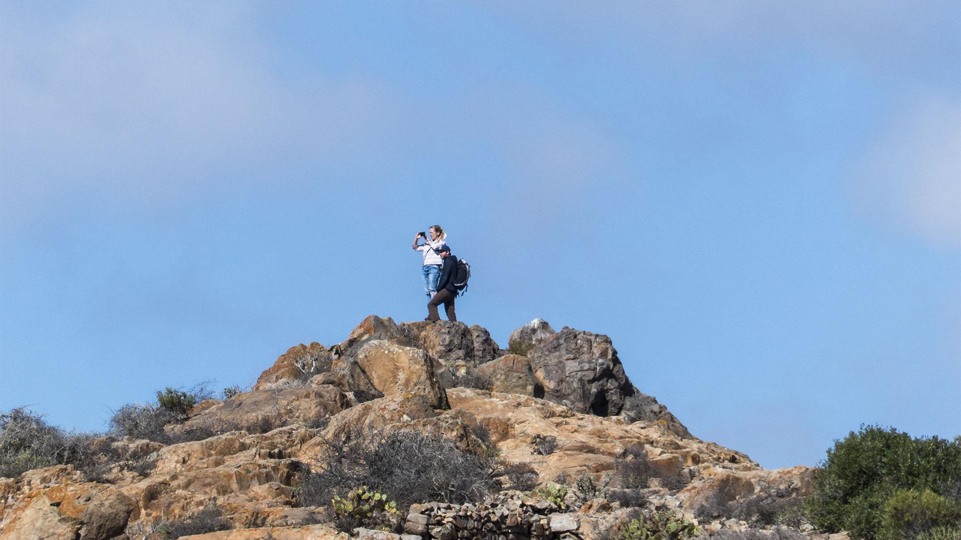 Wandern im Parra Medina Fuerteventura.