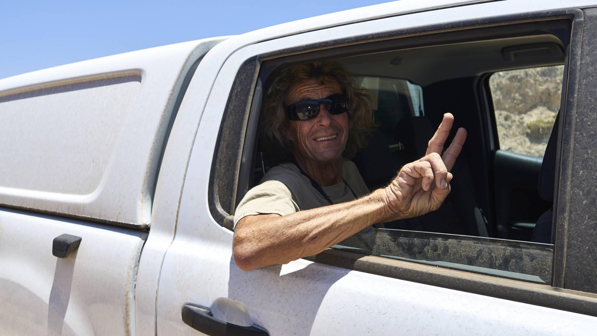 Schöne Tage, Postive Vibes –unterwegs im staubigen Outback von Fuerteventura.