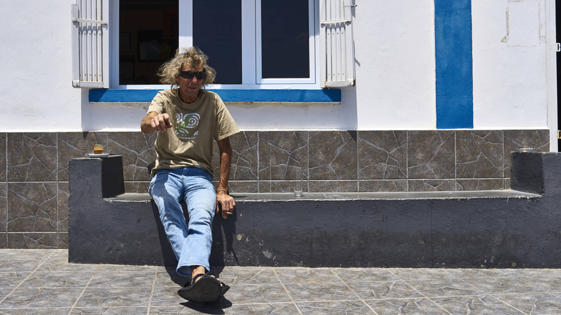 Wieder so oft, ein Café in der Bar González in Tindaya.