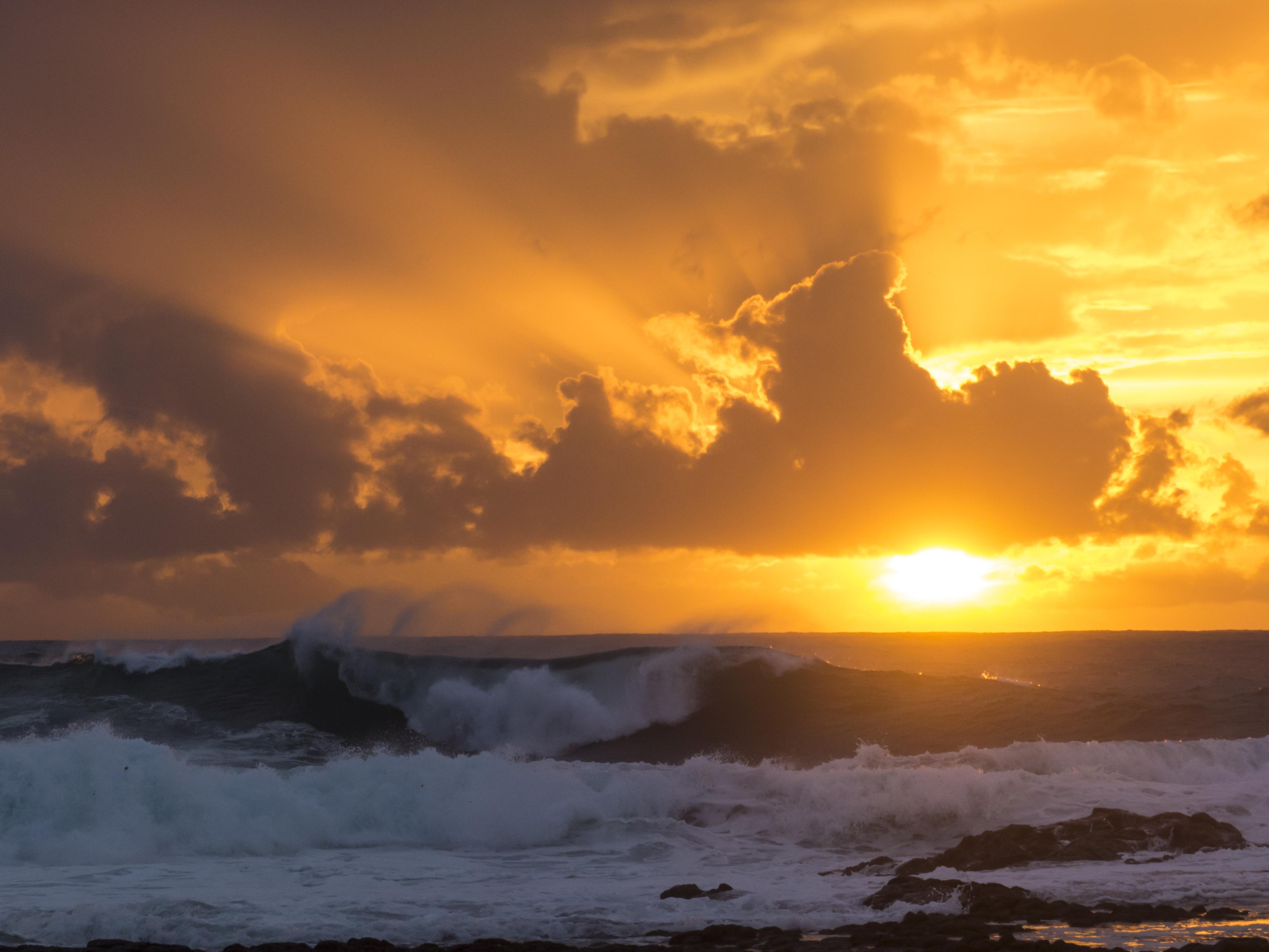 Playa los Mozos am Tablero del Golfete –wilde Küste, aufwühlende Fotos.